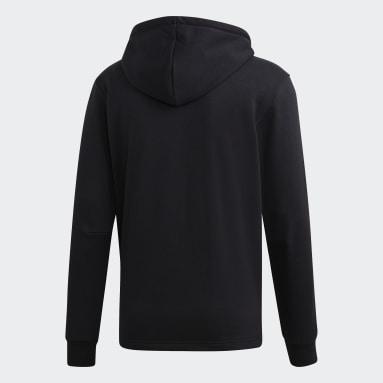 Männer Sportswear Must Haves 3-Streifen French Terry Kapuzenjacke Schwarz