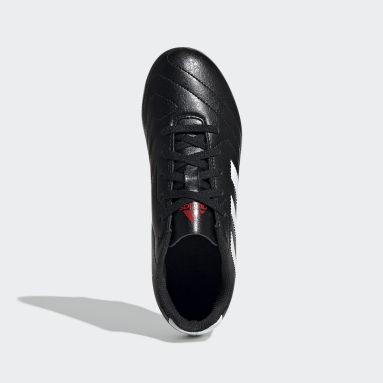 Calzado de Fútbol Goletto VII Terreno Firme Negro Niño Fútbol