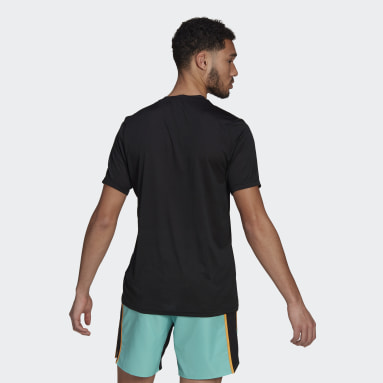 Men TERREX Black Terrex Primeblue Trail Functional Logo Tee