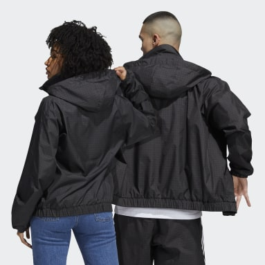 Originals Primeblue Workshop Windbreaker – Genderneutral Schwarz