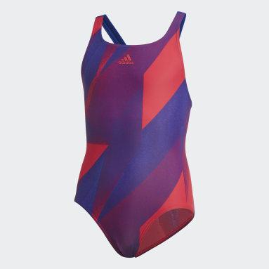 Meisjes Zwemmen Roze Girls Graphic Badpak