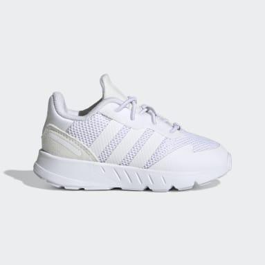 Kids Originals White ZX 1K Shoes