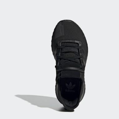 Chaussure U_Path Run Noir Enfants Originals
