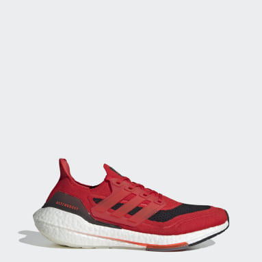 Running Red Ultraboost 21 Shoes