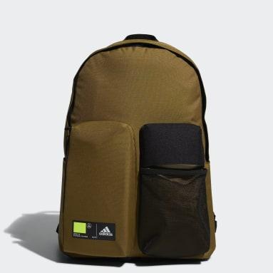 เทรนนิง สีเขียว กระเป๋าเป้ Classics 3D Pockets