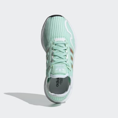 Youth Originals Turquoise Swift Run X Shoes