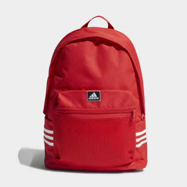 Training Red Classic 3-Stripes Backpack
