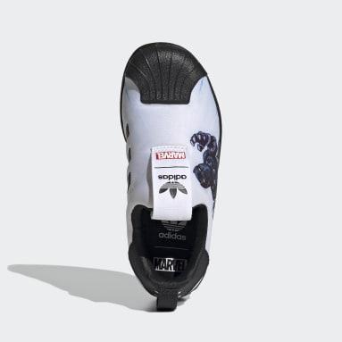 เด็ก Originals สีขาว รองเท้า Superstar 360