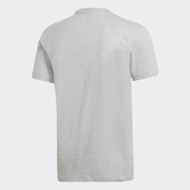Mænd Sportswear Grå Must Haves Badge of Sport T-shirt