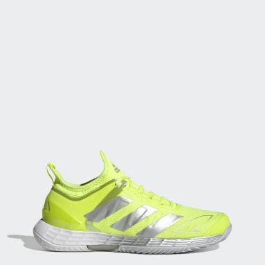 Women Tennis Yellow Adizero Ubersonic 4 Tennis Shoes