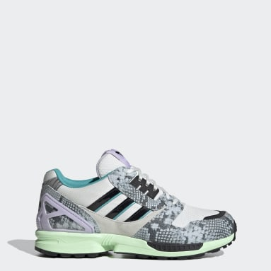Women Originals Blue ZX 8000 Shoes