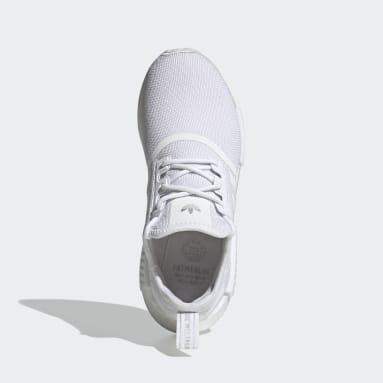Women Originals White NMD_R1 Primeblue Shoes