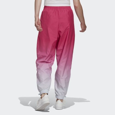 Women's Originals Burgundy Adicolor Trefoil 3D Track Pants