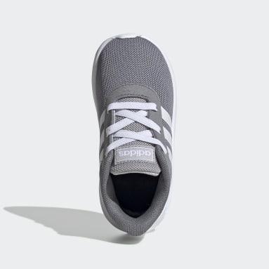 Kids Running Grey Lite Racer 2.0 Shoes