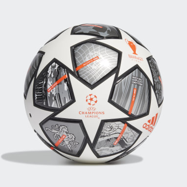 Men Football White Finale 21 20th Anniversary UCL Competition Ball