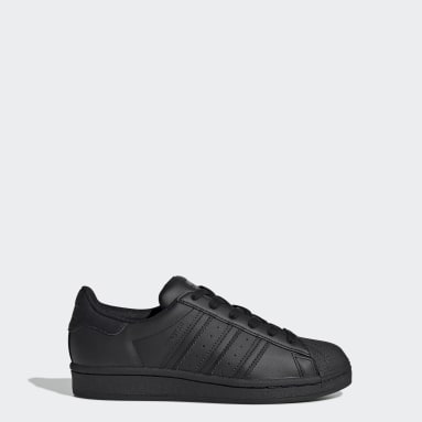 Chaussure Superstar noir Adolescents Originals