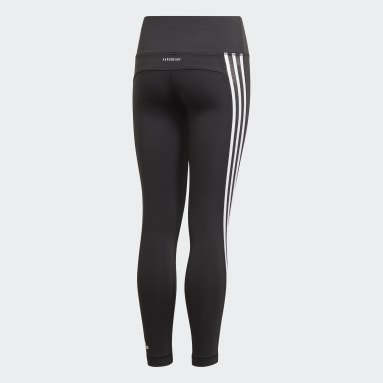 Youth Yoga Black Believe This 3-Stripes Tights