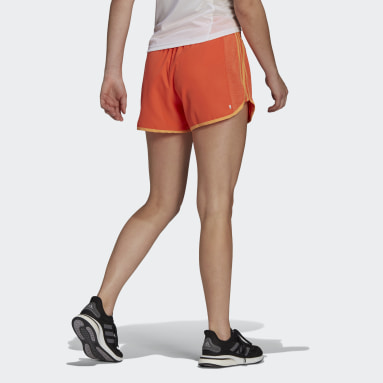 Women Running Orange Marathon 20 Cooler Shorts