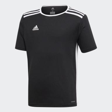 Jersey Entrada Negro Niño Fútbol