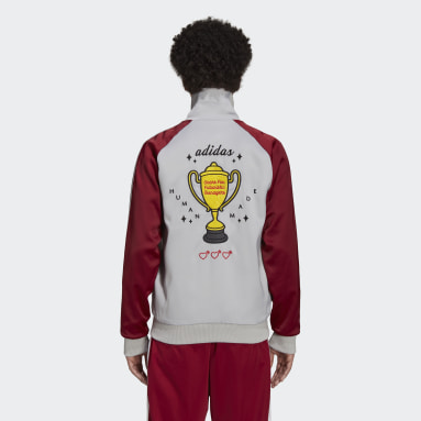 Originals Burgundy Human Made Firebird Track Top