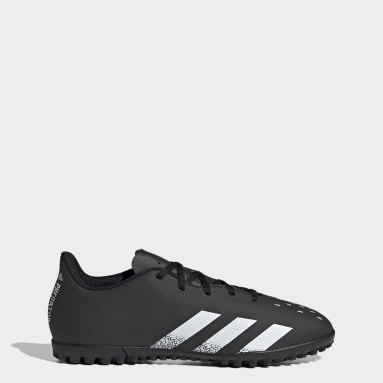 Men Soccer Black Predator Freak.4 Turf Shoes