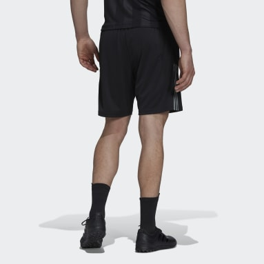 Men's Soccer Black Tiro Reflective Shorts