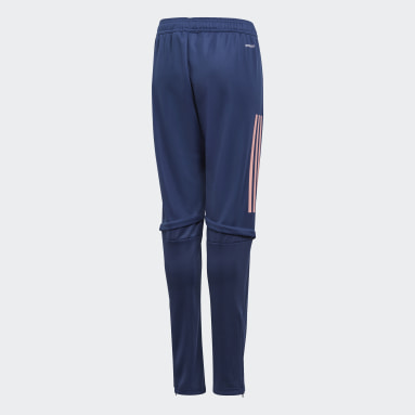 Kids Football Blue Arsenal Training Tracksuit Bottoms