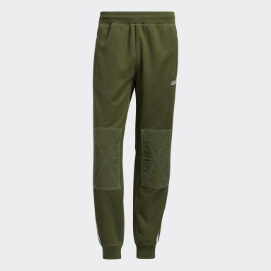 Muži Originals zelená Sportovní kalhoty SPRT