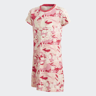 Girls Originals Hvid Adicolor kjole