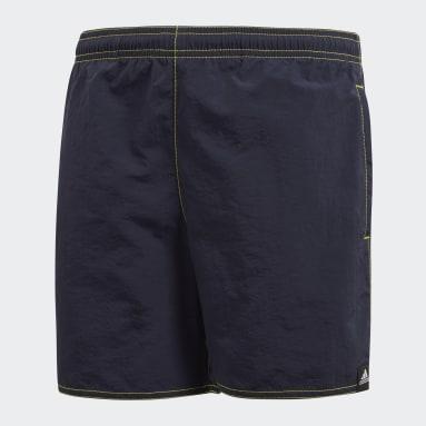 Kluci Plavání modrá Plavecké šortky Solid