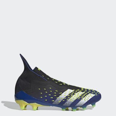 Men's Soccer Black Predator Freak+ Artificial Grass Cleats