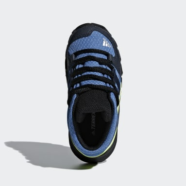 Boys TERREX Blue Terrex Mid GTX Shoes