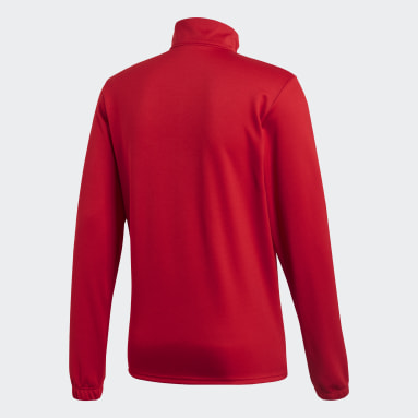 Men Gym & Training Red Core 18 Training Top