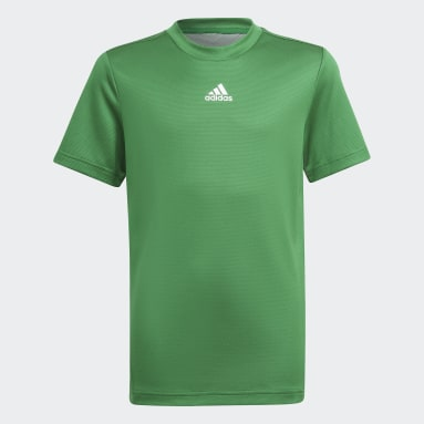 T-shirt AEROREADY Verde Ragazzo Fitness & Training