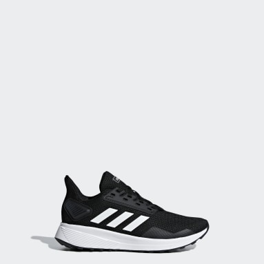 Kids Running Black Duramo 9 Shoes