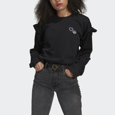 Women Originals Black Crewneck Sweatshirt