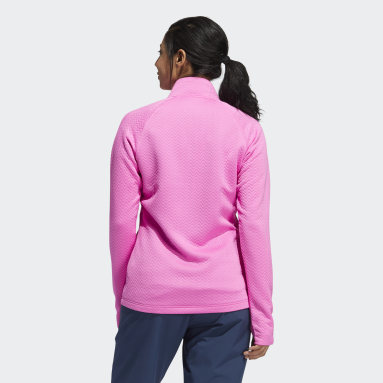 Chamarra Textured Layer Rosa Mujer Golf