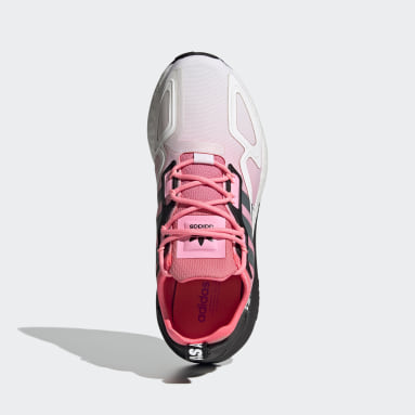 Kvinder Originals Rød ZX 2K Boost sko