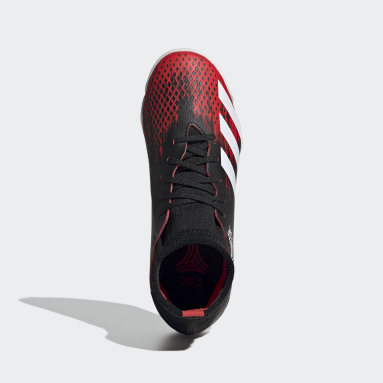 Calzado de Fútbol Predator 20.3 Cancha Cubierta Negro Niño Fútbol