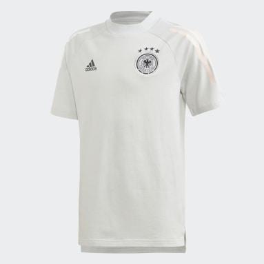 Kinderen Voetbal Grijs Duitsland T-shirt