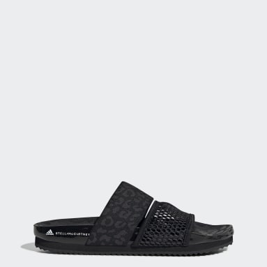 Dam adidas by Stella McCartney Svart Stella-Lette Slides