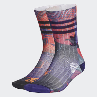 Originals Black CNY Crew Socks 2 Pairs