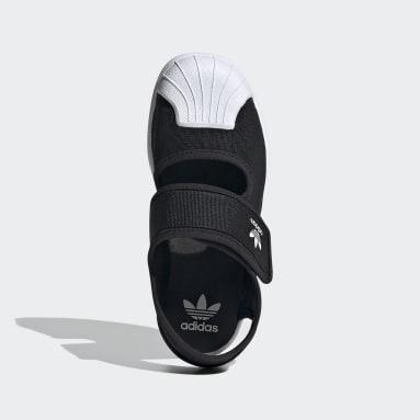Barn Originals Svart Superstar 360 Shoes