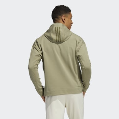 Men Studio Green Yoga Cover-Up