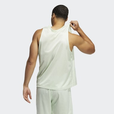 Men's Basketball Green Summer Legend Tank Top