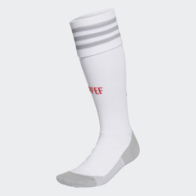 Football White Spain Away Socks