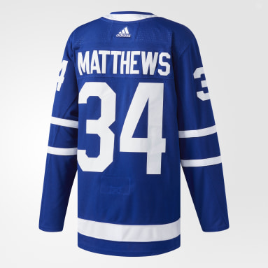 Hockey Blue Maple Leafs Matthews Home Authentic Pro Jersey