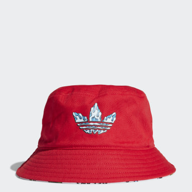 Gorro Originals x Aaron Kai Bucket Rojo Niño Originals