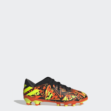 Chaussure Nemeziz Messi.3 Multi-surfaces Orange Enfants Football