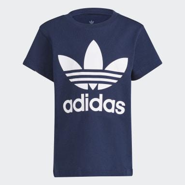 Kids 4-8 Years Originals Blue Trefoil T-Shirt
